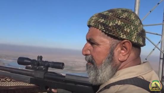 לוחם ערבי בסוריה • אילוסטרציה