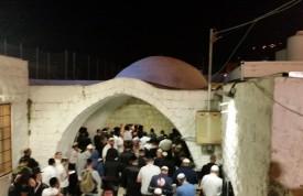 קבר יוסף פסח תשעו - הכניסה לציון