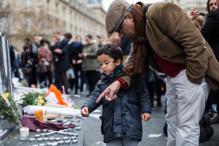 .ילד, צרפת, פיגוע