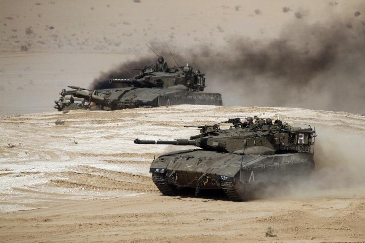 טנק נשק ישראל