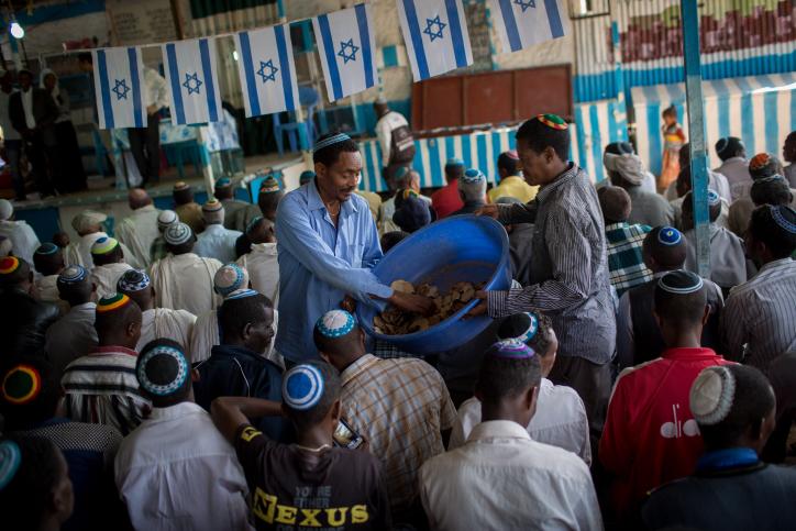 פלשמורה גונדר אתיופיה פסח מצות