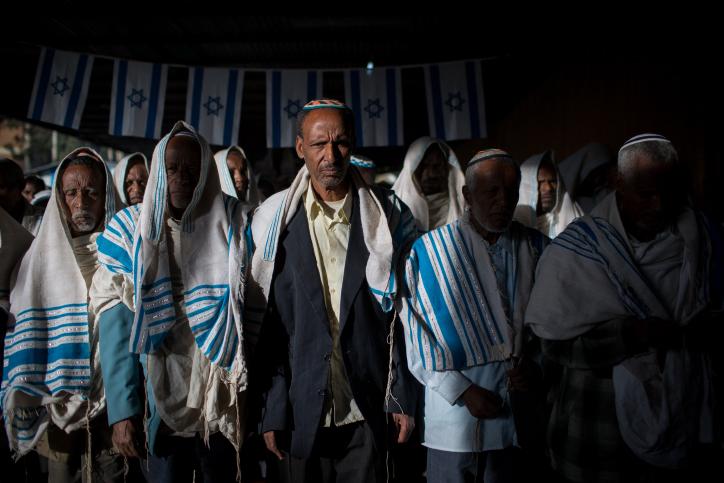 תפילה פלשמורה גונדר אתיופיה