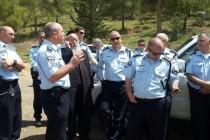 מוזס שוטרים מירון