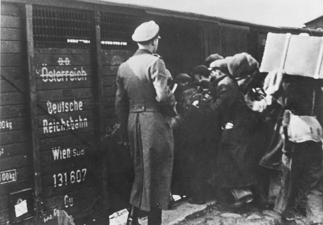 רכבת שואה נאצים