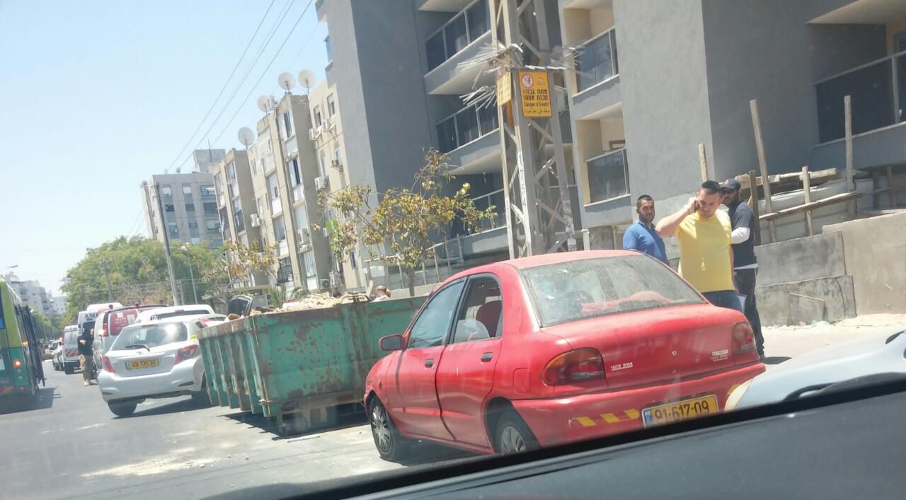 רכב בו נשכח ילד