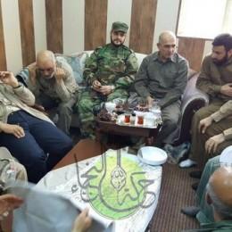 מפקד משמרות המהפכה קסאם סולימאני מפקד על הקרב על פאלוג'ה