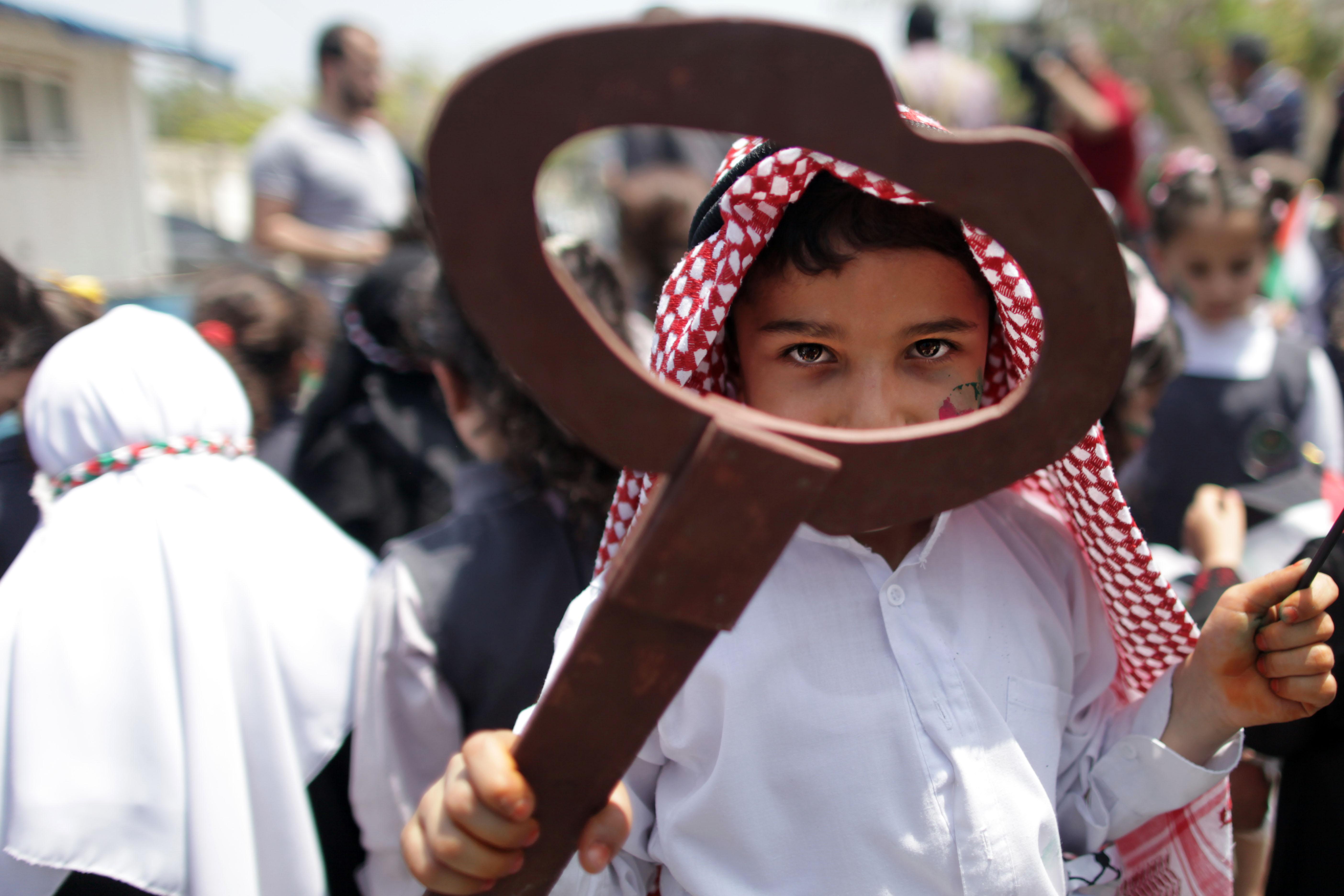 יום הנכבה, ילד פלסטיני, ערבי, פלסטינים