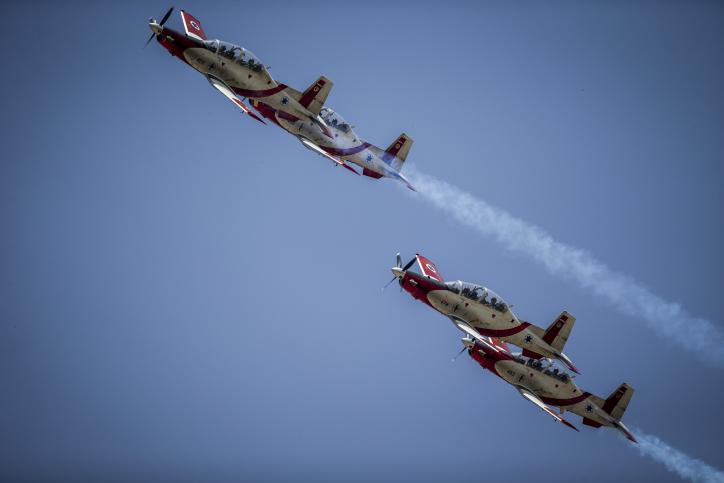 מטס חיל האוויר יום העצמאות