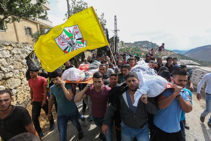 פלסטינים, הלוויה, הסתה