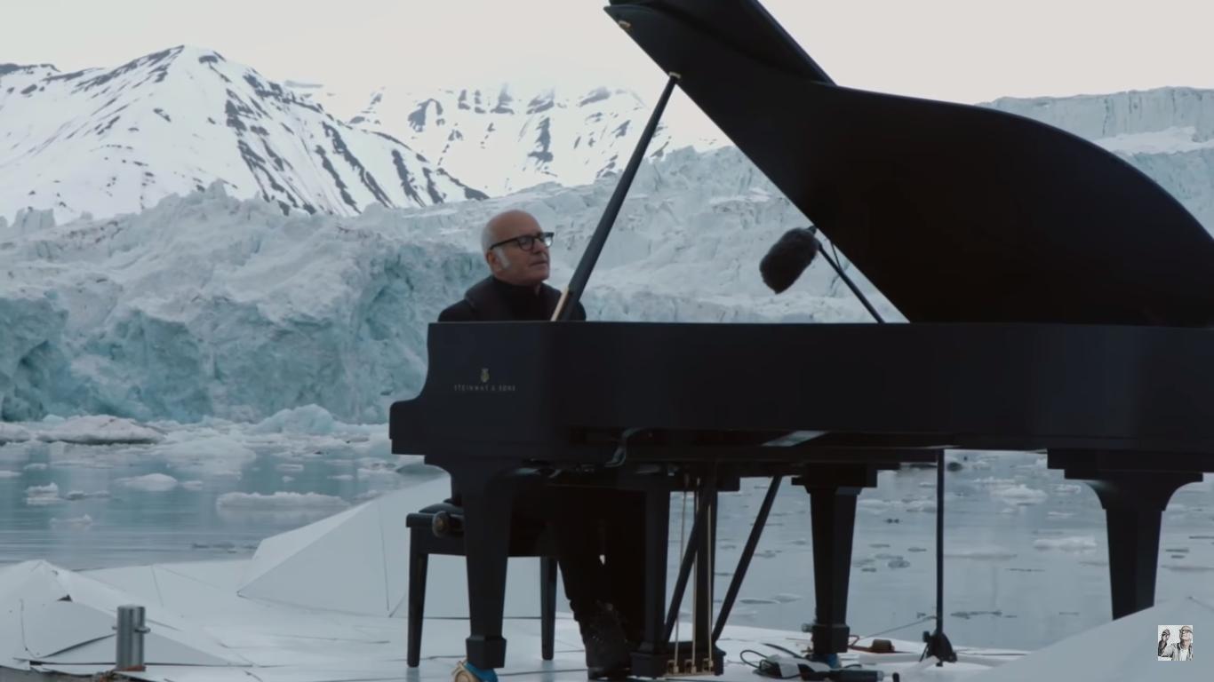 פסנתר קרח שלג