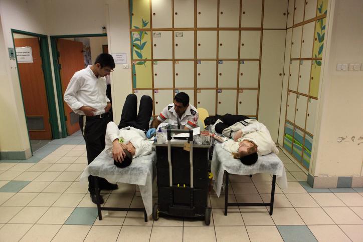 תרומת דם בריאות חולה רפואה בית חולים