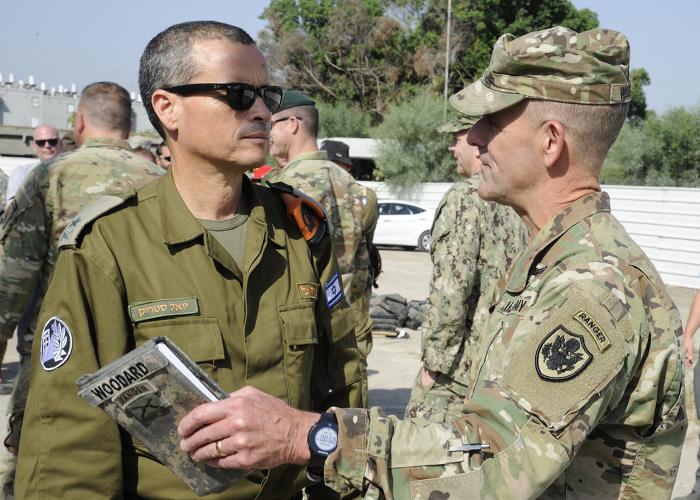 """צה""""ל וצבא ארה""""ב באימון משותף - אילוסטרציה"""