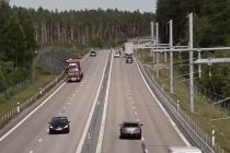 כביש חשמלי מכוניות רכב