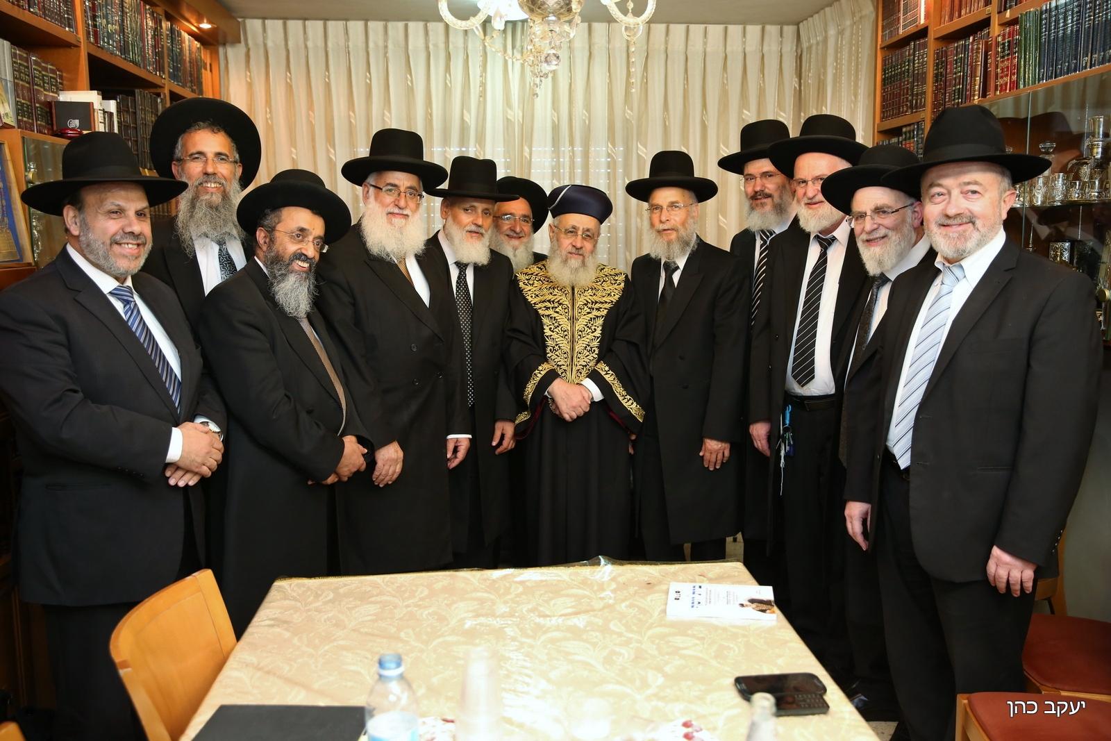 דיינים בית הדין הרבני הגדול יצחק יוסף