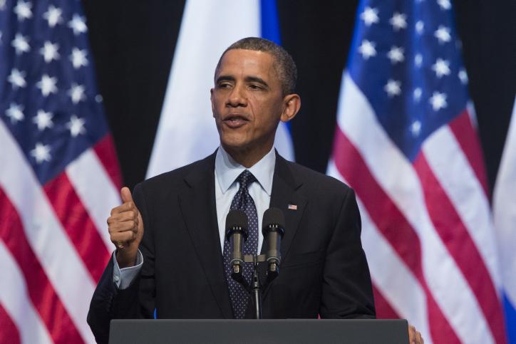 """נשיא ארה""""ב לשעבר, ברק אובמה"""