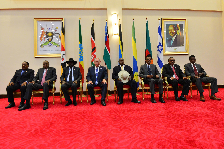 נתניהו אוגנדה אפריקה