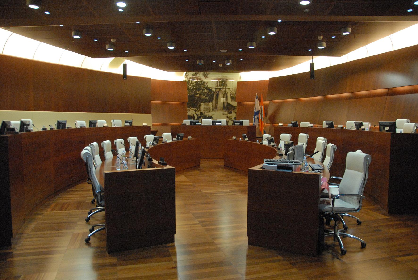 ישיבת מועצה - מועצת העיר ראשון לציון