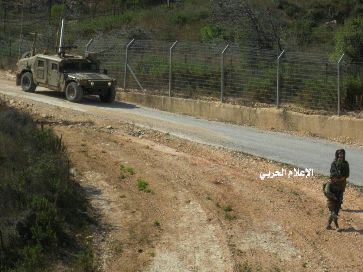 """צה""""ל בגבול לבנון בתיעוד לבנוני"""