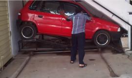 רכב חניה מכונית