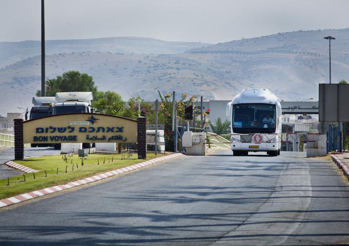 מעבר הגבול בירדן