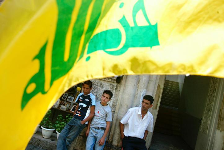 דגל חיזבאללה בלבנון • אילוסטרציה