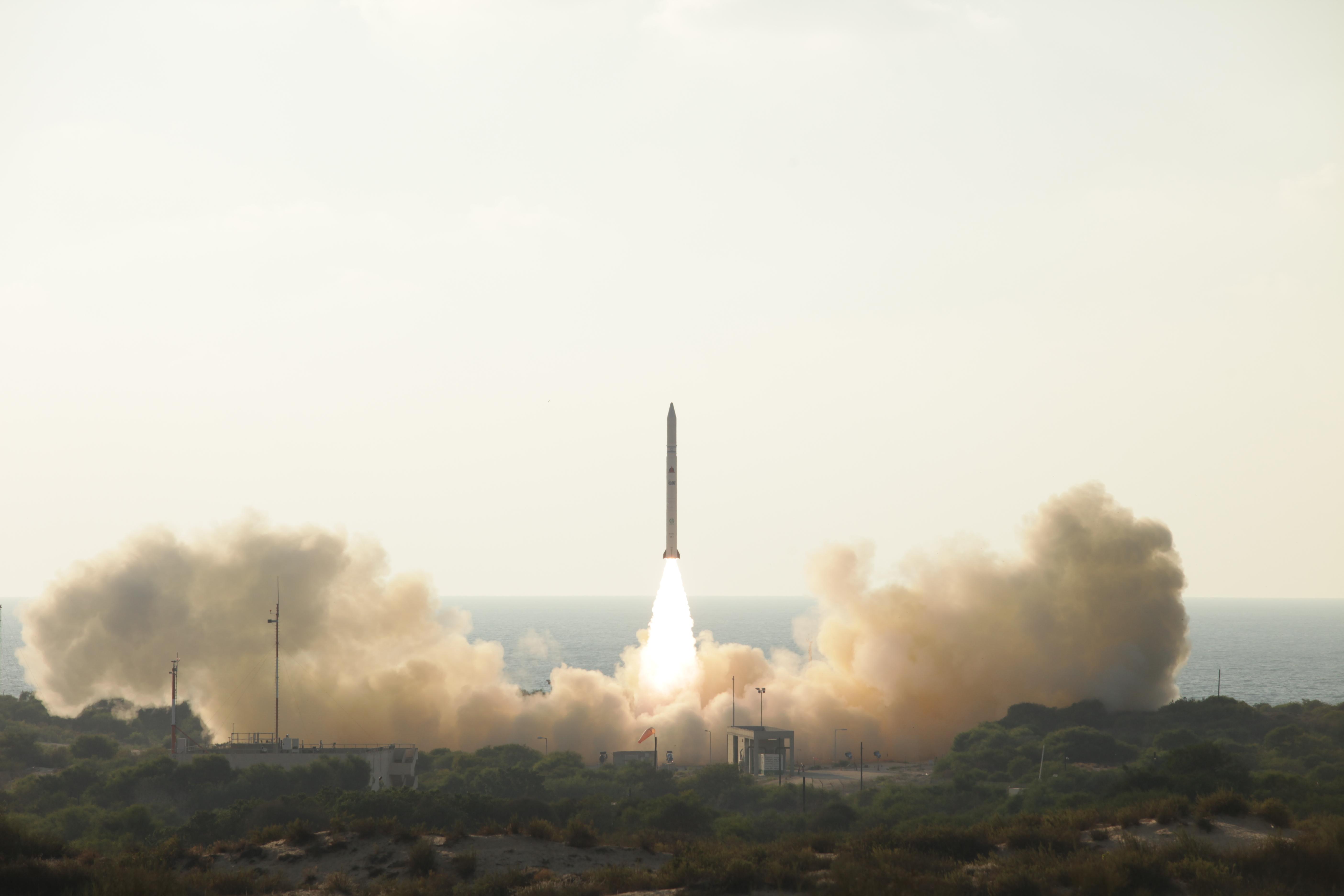 שיגור לוויין ריגול אופק 11
