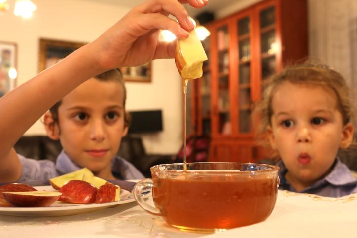תפוח דבש ראש השנה ילדים