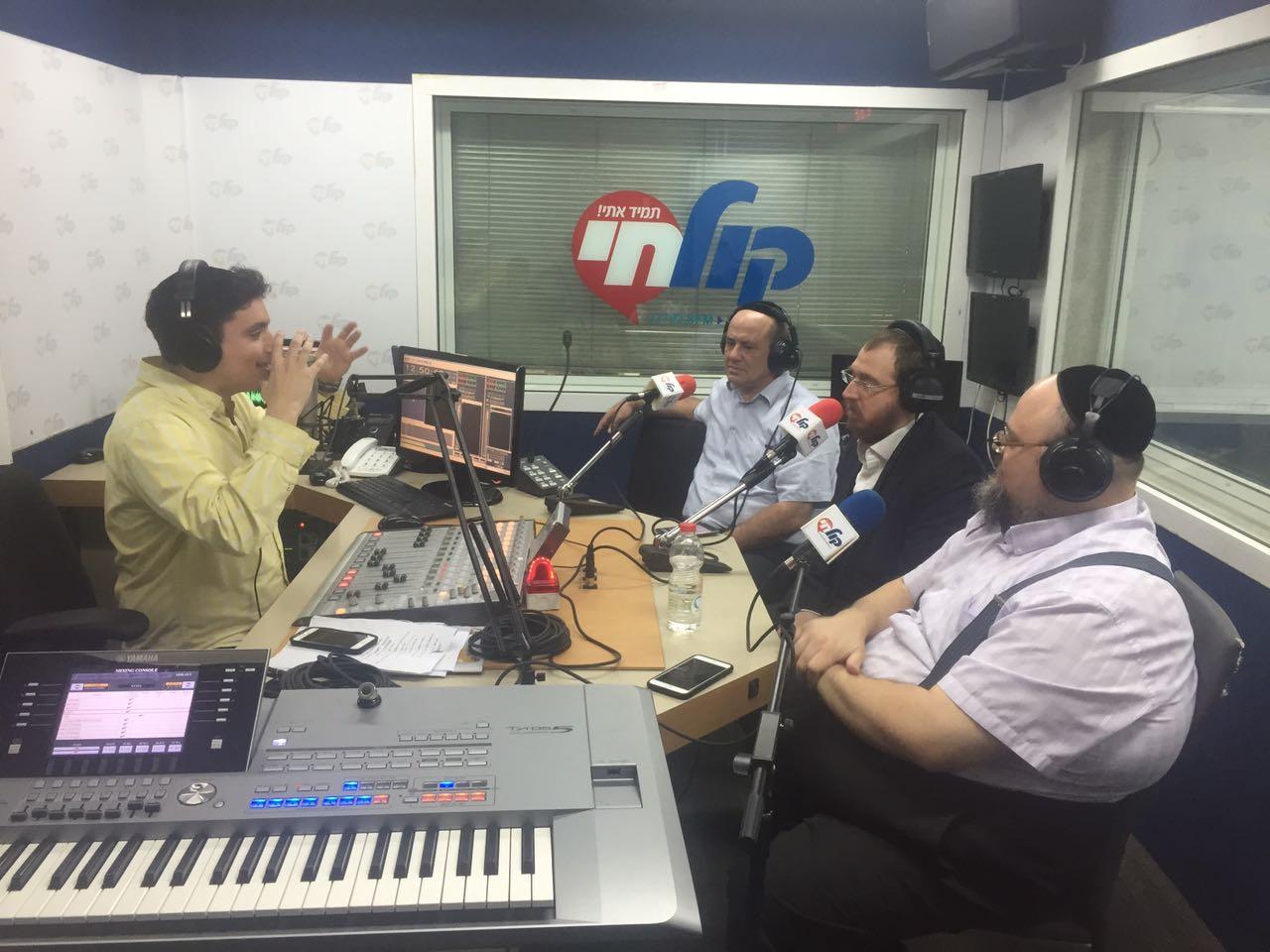 יואלי דיקמן, רובי בנט, יהושע פריד, משה לאופר