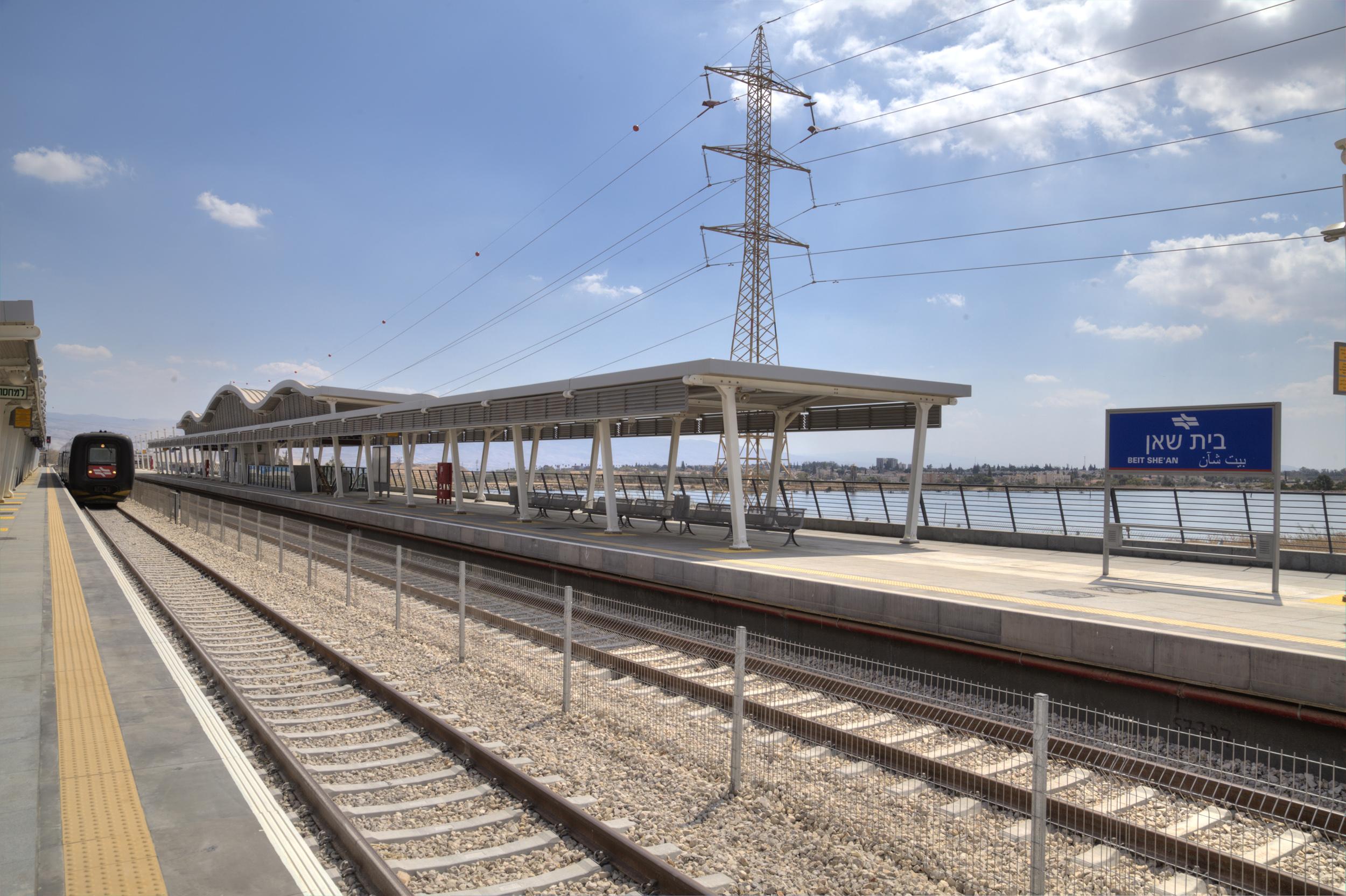 תחנת רכבת ישראל בית שאן