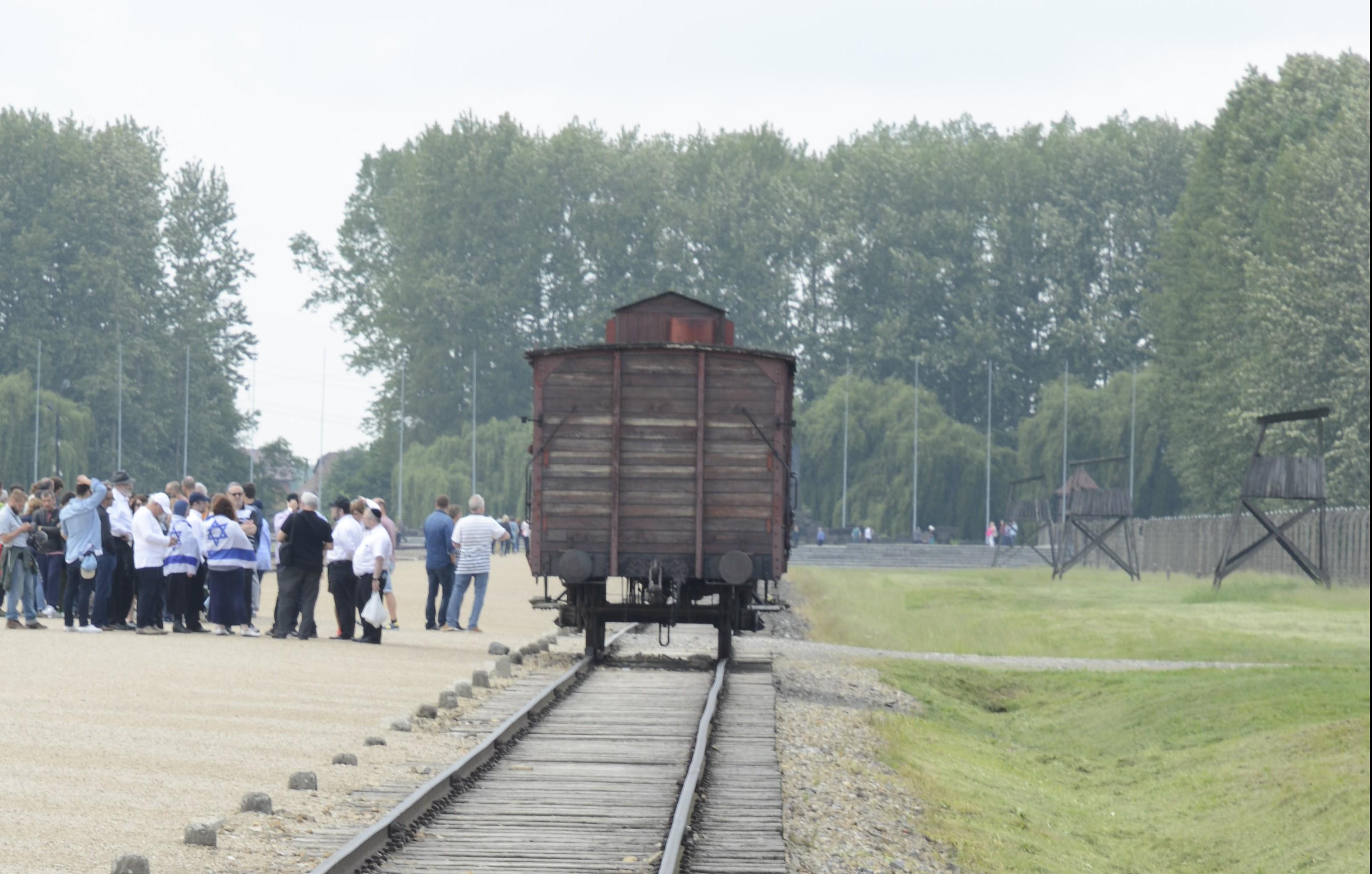 המסע לפולין - מחנות ההשמדה 07