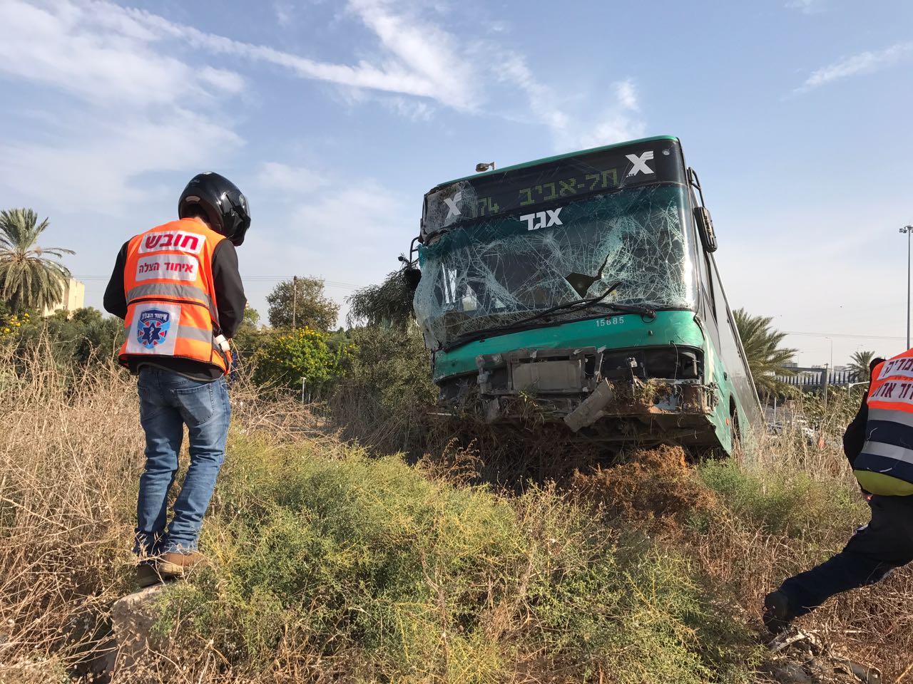 תאונה אוטובוס