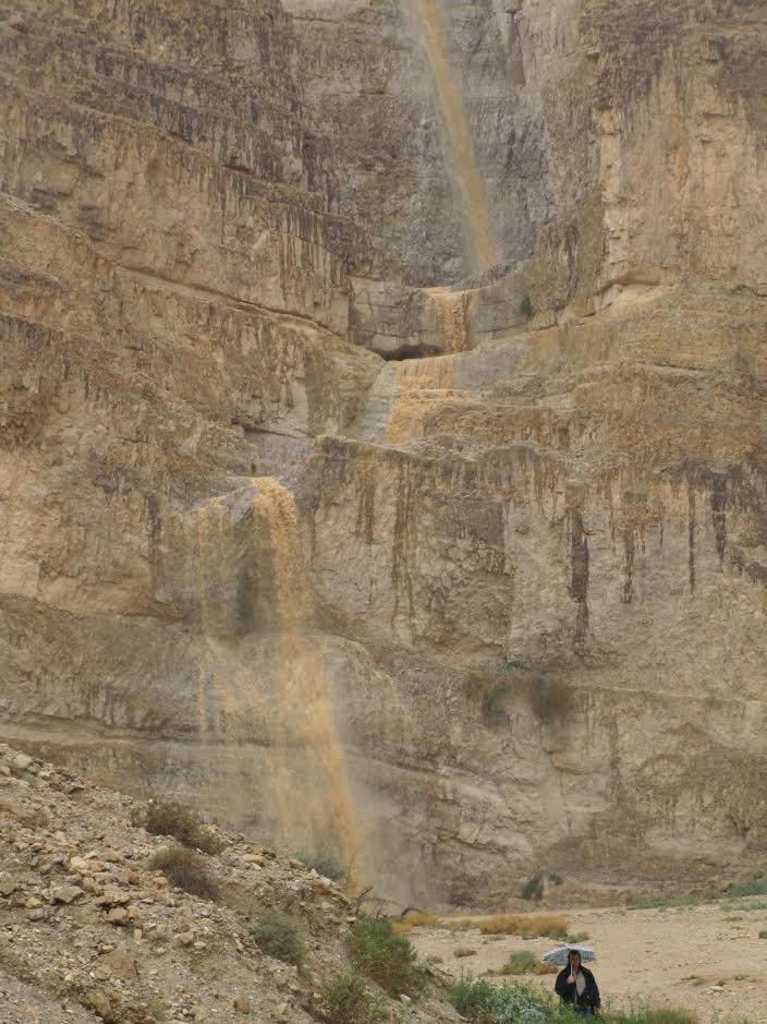 שטפונות נחלים נגב מים גשם
