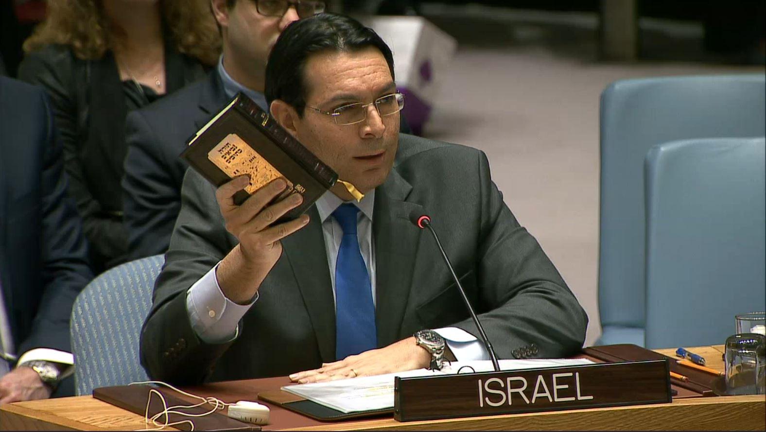 """שגריר ישראל באו""""ם, דני דנון"""