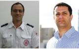 """מוטי אלמליח, דובר איחוד הצלה (מימין) וד""""ר רפי סטרוגו, סמנכ""""ל רפואה במד""""א (משמאל)"""