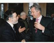 הרב גיגי עם מלך בלגיה