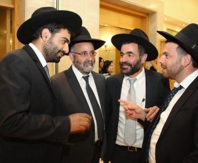 מימין לשמאל: יהודה עוביידי שלומי אטיאס, משה עידן ומיכאל מלכיאלי
