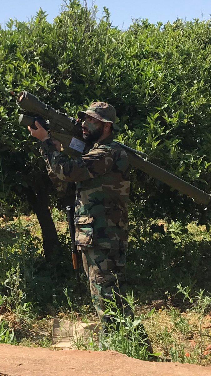 לוחם חיזבאללה הבוקר בגבול ישראל