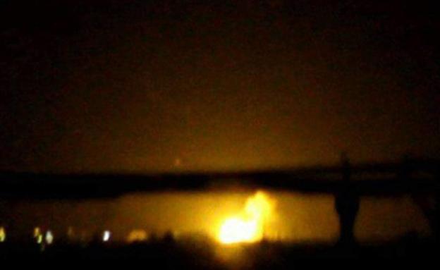 תקיפה בשטח סוריה |  אילוסטרציה