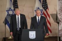 """נשיא ארה""""ב, דונלד טראמפ וראש הממשלה, בנימין נתניהו"""