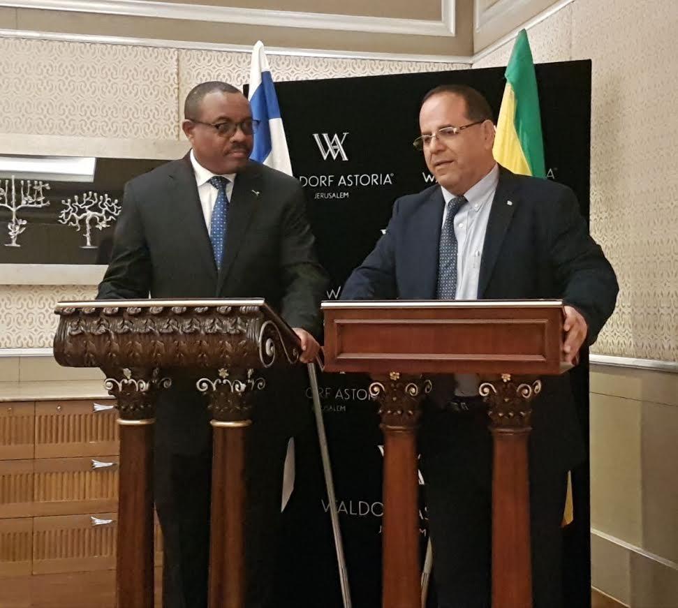 שר התקשורת וראש ממשלת אתיופיה