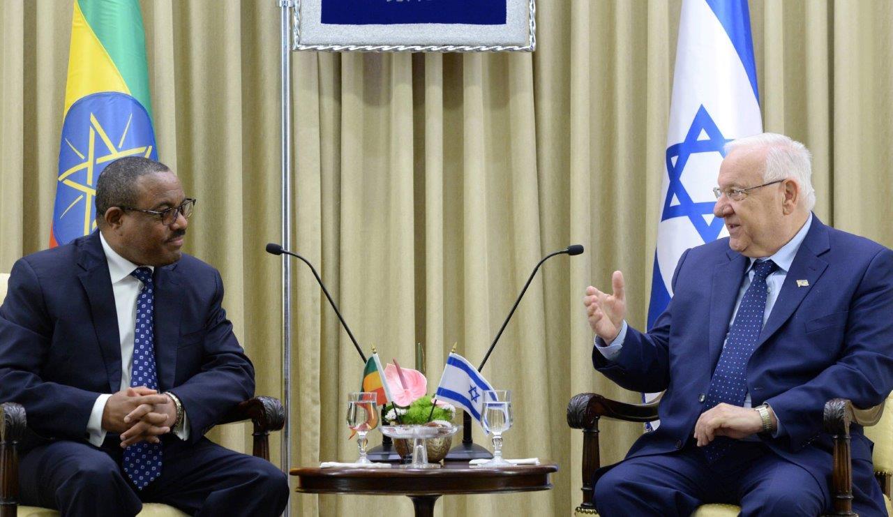 נשיא המדינה וראש הממשלה האתיופי
