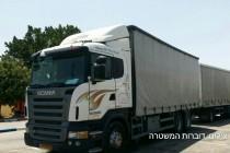 המשאית שנתפסה