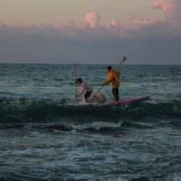 סירת דיג בחופי עזה