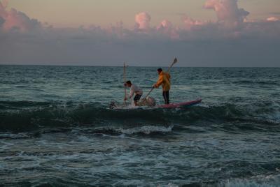 סירת דיג בחופי עזה | אילוסטרציה