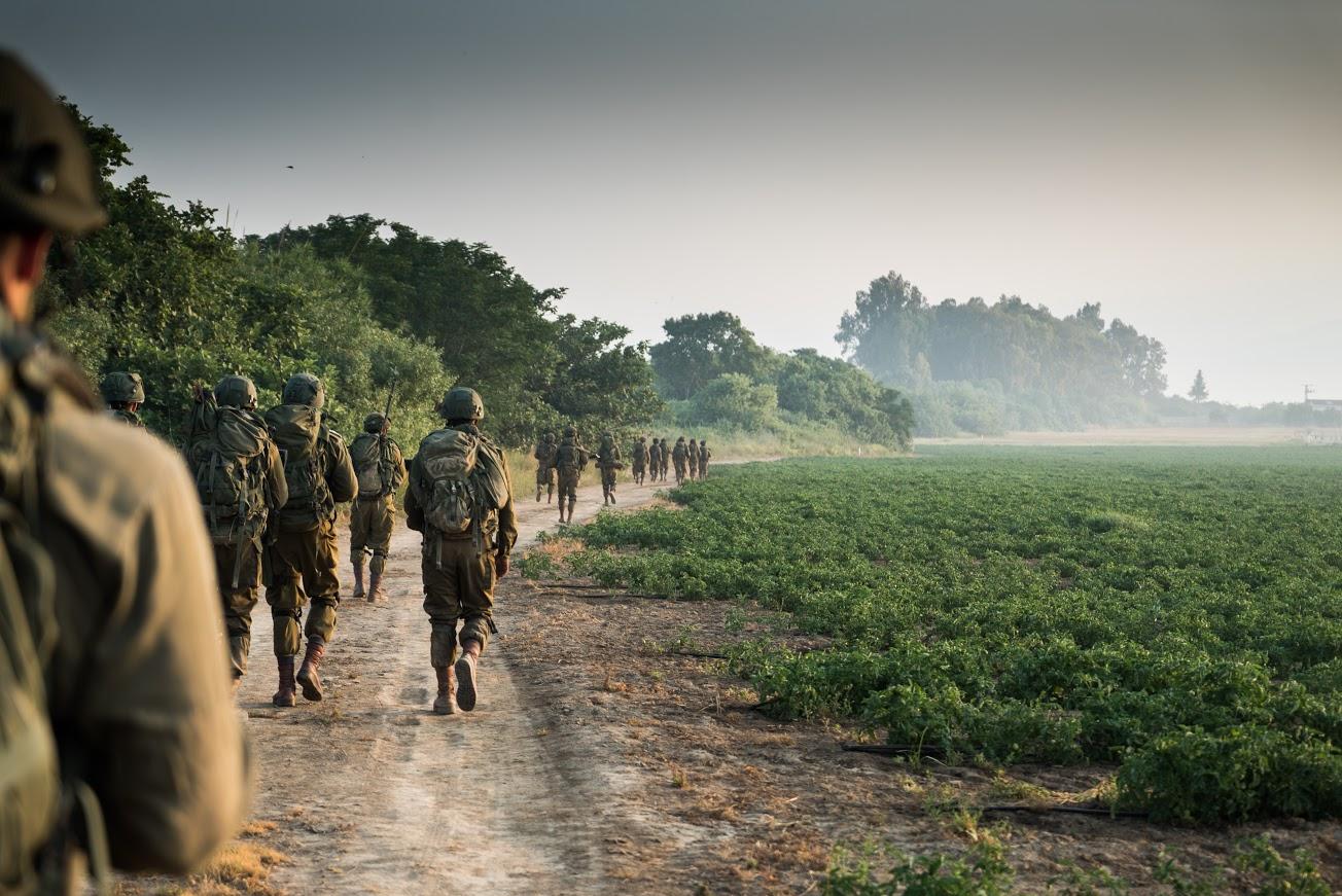 חיילים במהלך תרגיל • אילוסטרציה