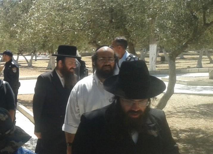 יהודים השבוע בהר הבית