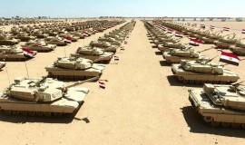 טנקים בבסיס הצבאי