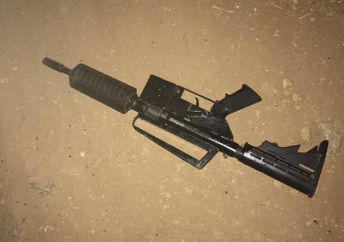 הנשק אתו ירה המחבל