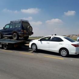 חלק מהרכבים שנהגיהם נעצרו