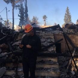 ביתו של השדרן יואב דיליאון שנשרף בהצתה לפני מספר חודשים
